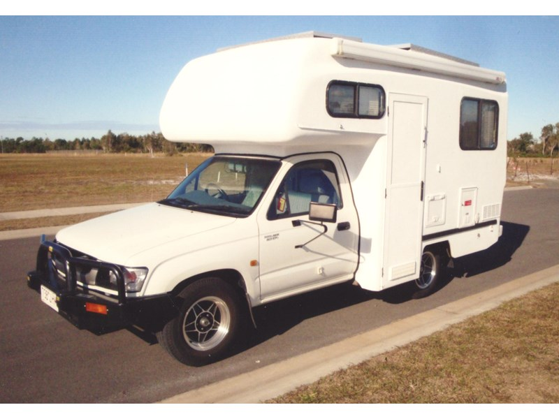 toyota hilux mobile home - clancy deluxe 128398 001