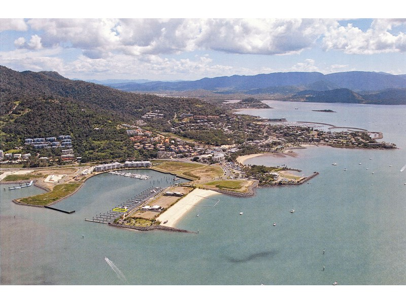 30m x 11.3 wide multihull berth in the whitsundays - 96 year lease in place 142229 001