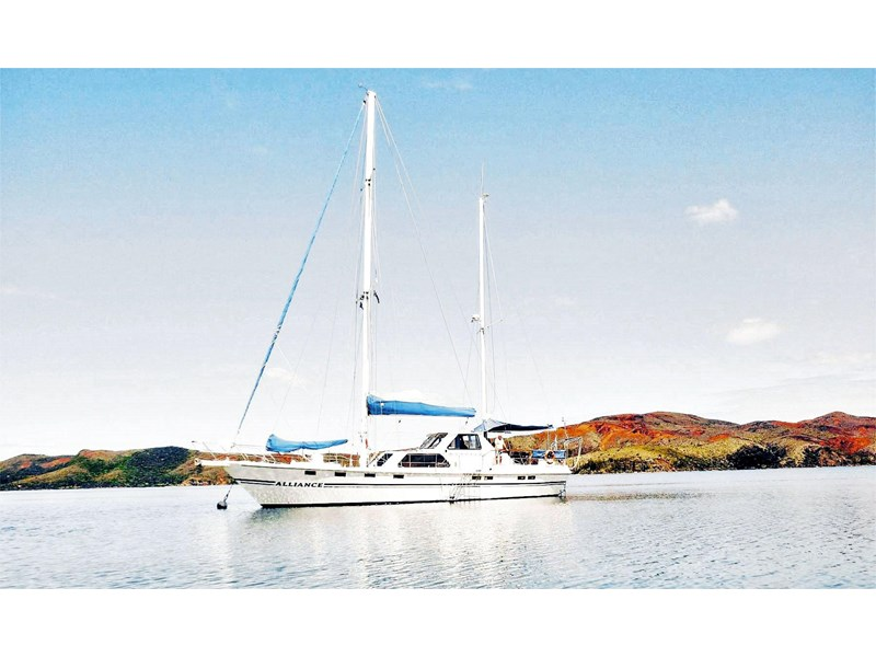 custom alliance - 63ft steel ketch* safe, solid & reliable 148607 002