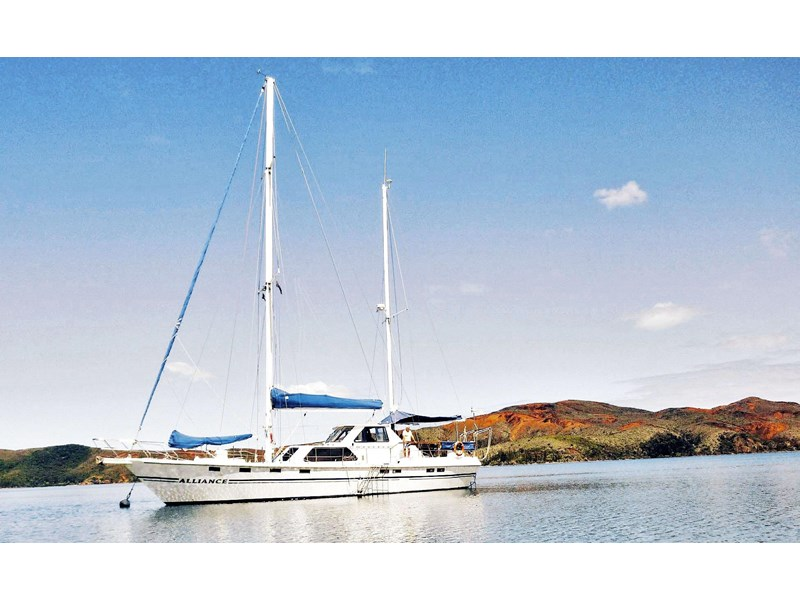 custom alliance - 63ft steel ketch* safe, solid & reliable 148607 004