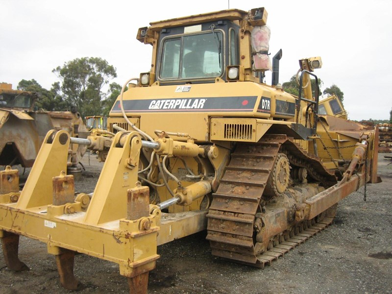 caterpillar d7r-ii 163947 002