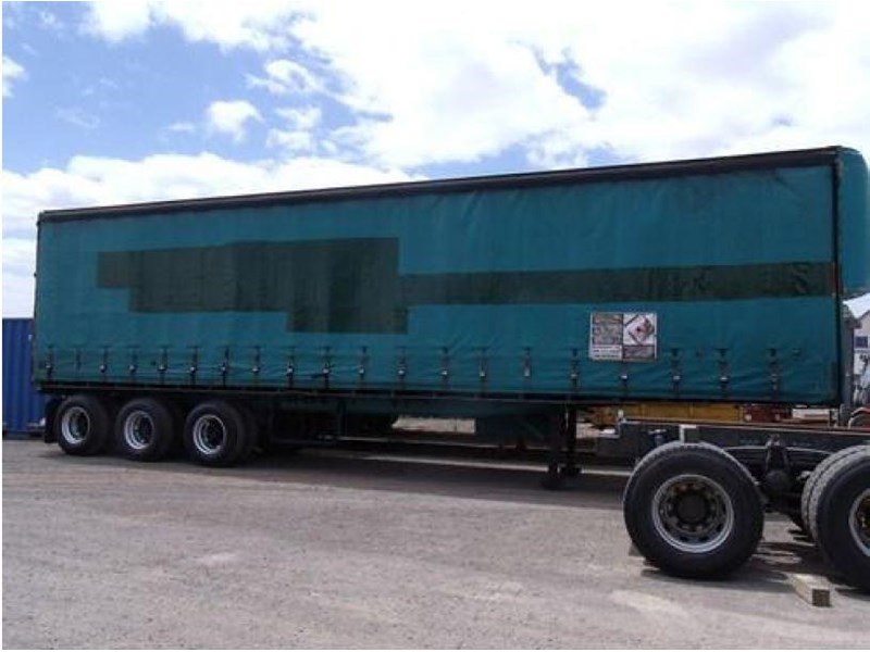 freighter tri axle 40ft curtainside trailer 164029 002