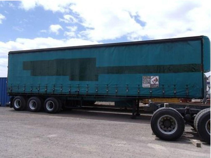 freighter tri axle 40ft curtainside trailer 164029 010