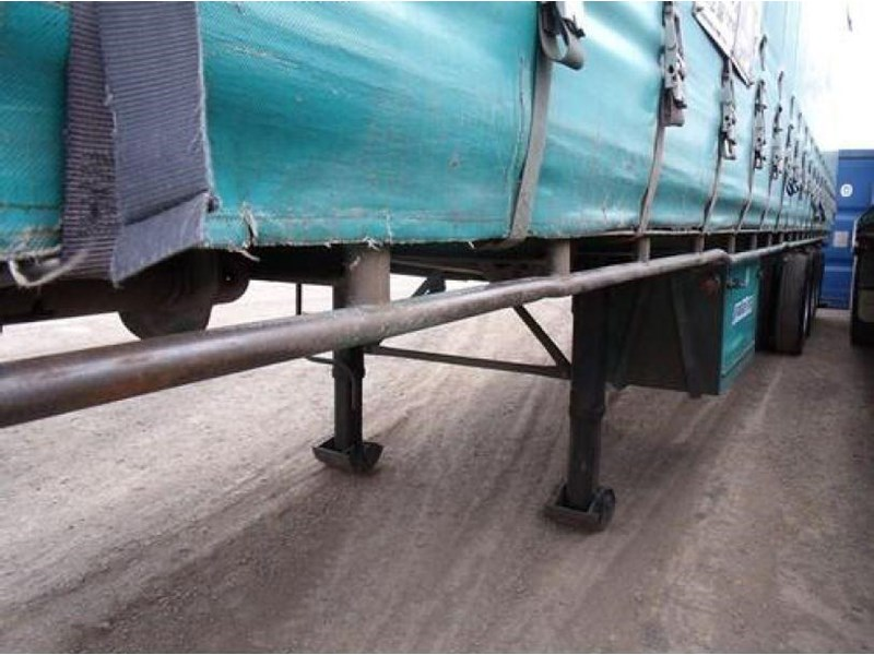 freighter tri axle 40ft curtainside trailer 164029 012
