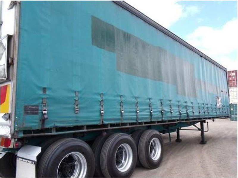 freighter tri axle 40ft curtainside trailer 164029 014