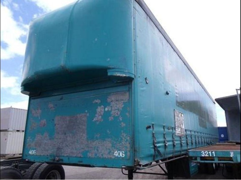 freighter tri axle 40ft curtainside trailer 164029 016