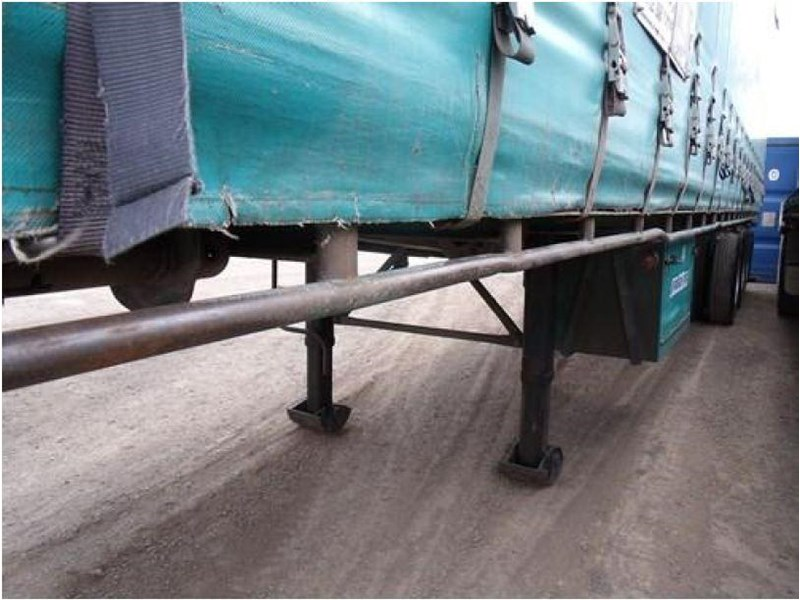freighter tri axle 40ft curtainside trailer 164029 018