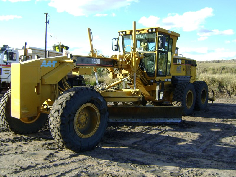 caterpillar 140h vhp series 2 185370 001