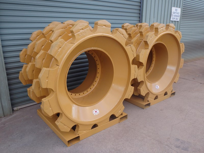 caterpillar compactor wheels 191276 001