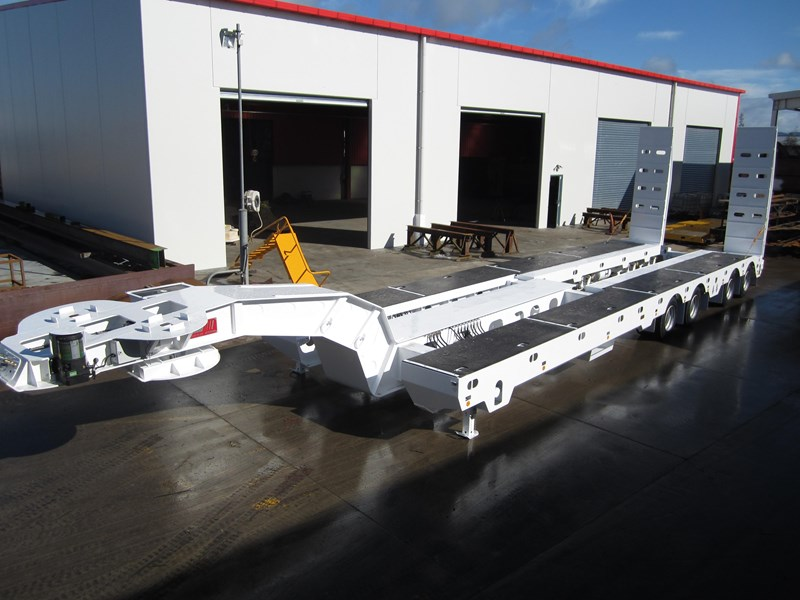 trt new trt quad axle widening low loader 193886 007