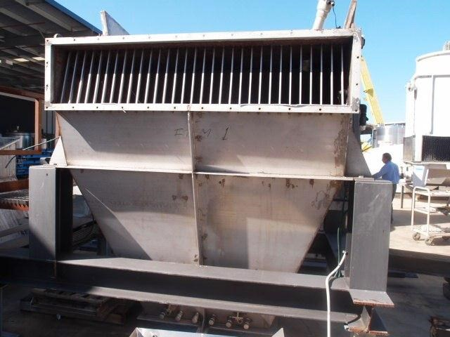 powder hopper stainless steel 195335 002