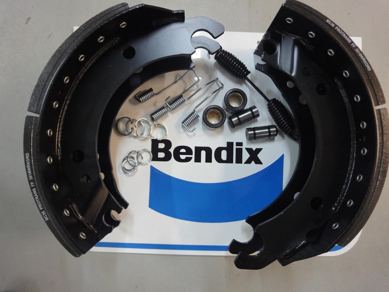 brake shoe & hardware kits bendix 206525 001