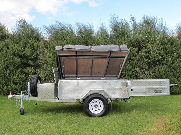 mars campers surveyor series gs 14 - soft top camper trailer 211751 008