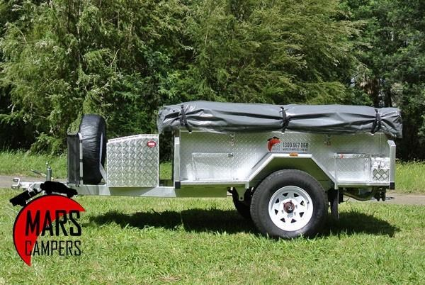 mars campers surveyor series gs 14 - soft top camper trailer 211751 004