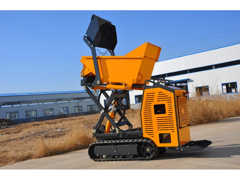 hysoon high lift dumper with self loading bucket 91152 001