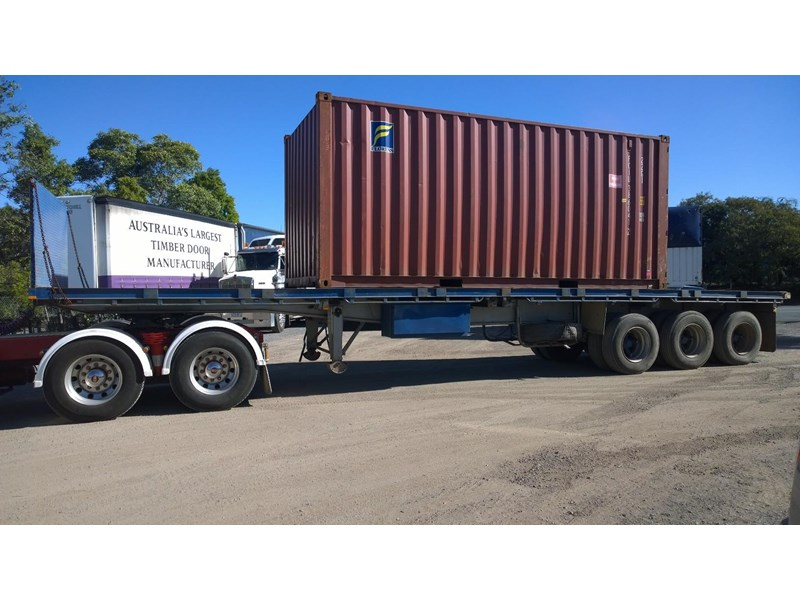 lusty ems 40ft tri axle flat top trailer 219298 003