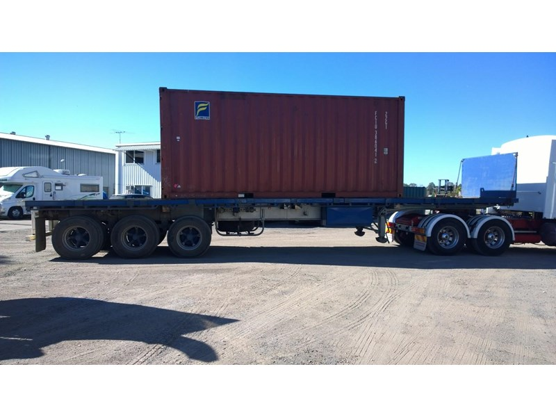 lusty ems 40ft tri axle flat top trailer 219298 005