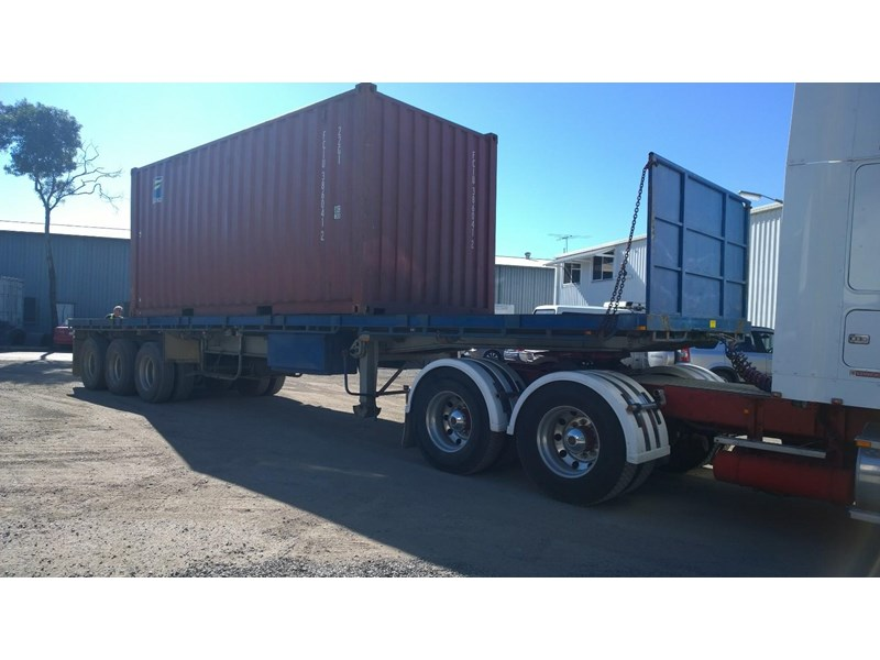 lusty ems 40ft tri axle flat top trailer 219298 001