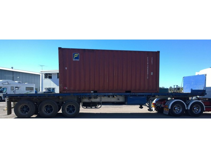 lusty ems 40ft tri axle flat top trailer 219298 007