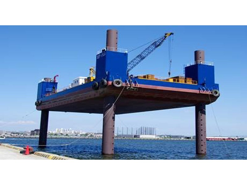 barge jack up barge marine construction - on charter - available 2017 220673 001