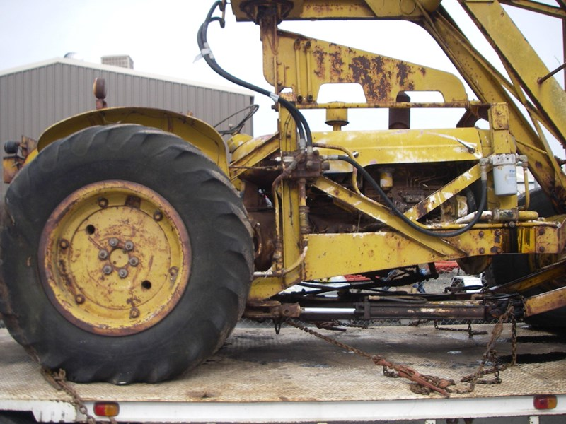 cranvel mobilift crane (wrecking parts only) fordson super major powered 220944 006
