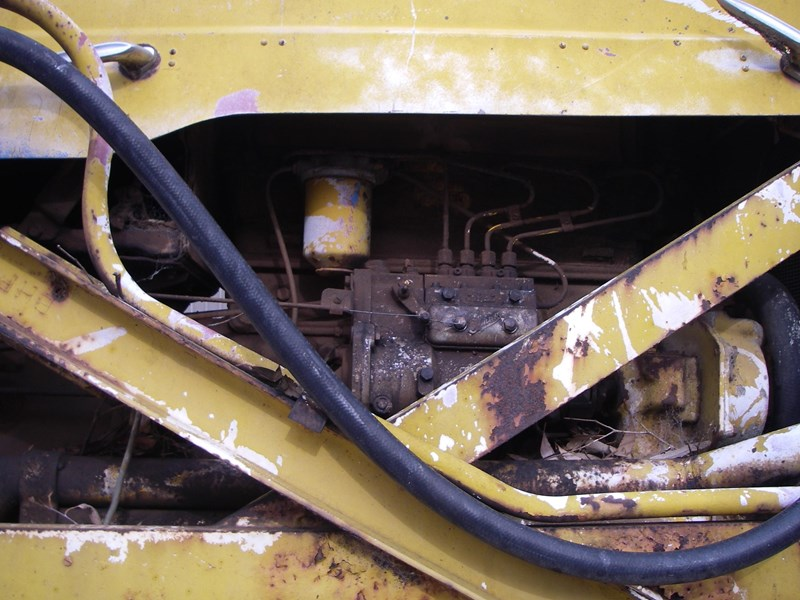 cranvel mobilift crane (wrecking parts only) fordson super major powered 220944 012