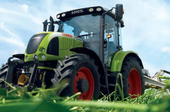 Claas Ares 420