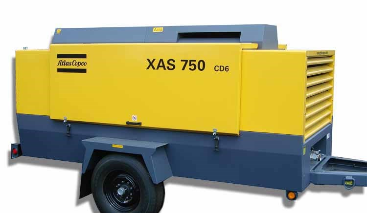 Atlas Copco XAS 750 CD6