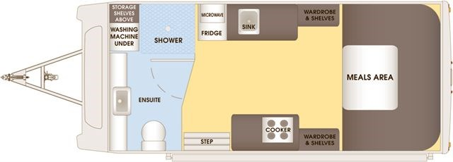 Talvor 550A Floor Plan
