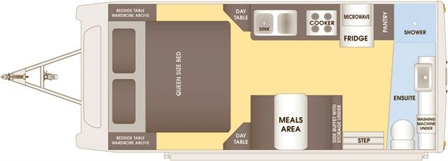Talvor 650A Floor Plan