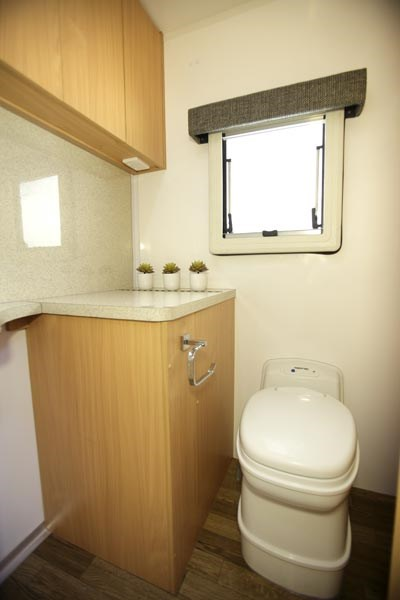 Talvor 650A Bathroom