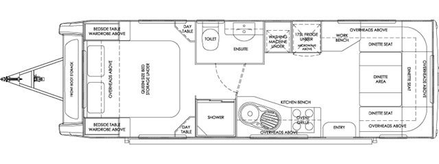 Talvor 750A Floor Plan