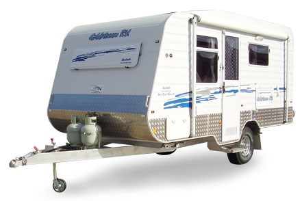 Goldstream RV 16' Center Door Rear Ensuite