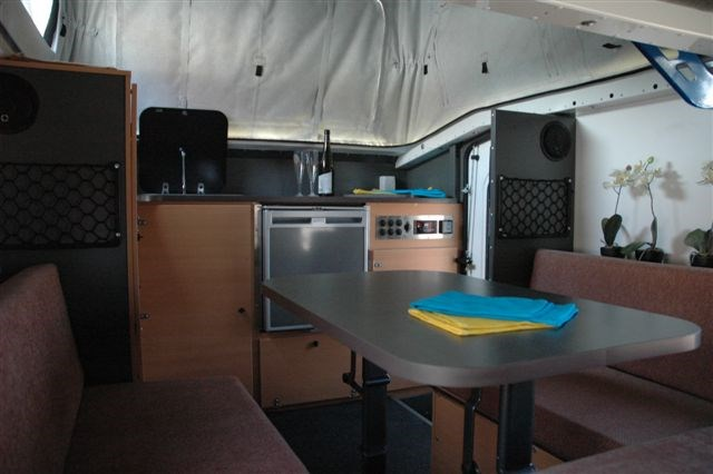Vista RV Campers Crossover Interior