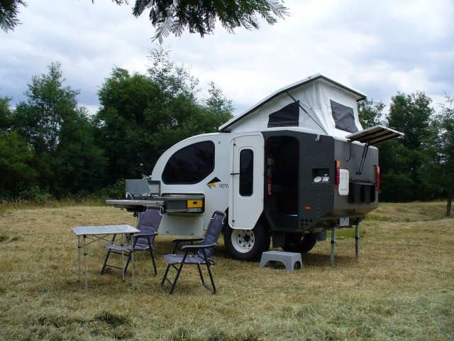 Beautiful Starcraft Offroad Camper Motorbike Rack Shower Toilet Has A Great