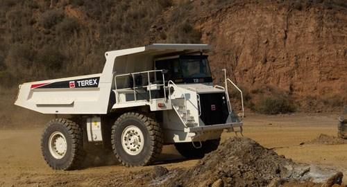 new terex tr45 rigid haul truck trucks for sale. Black Bedroom Furniture Sets. Home Design Ideas