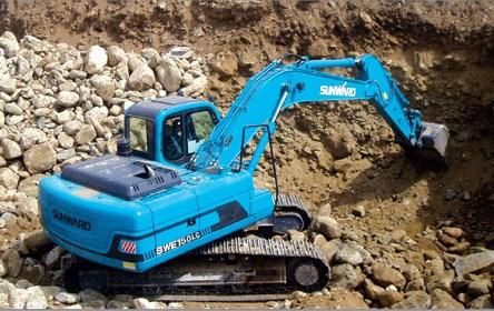 escavatori pale SUNWARD Swe125-150_2