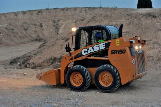 Case SR150 Wheel Skidsteer