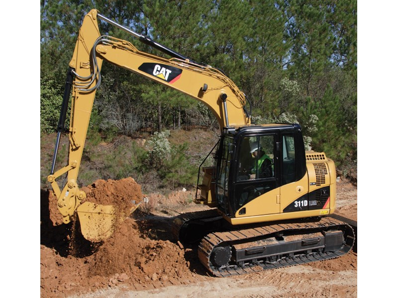 Caterpillar DL-RR Excavator