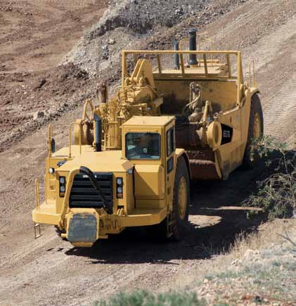 Caterpillar 657G Scraper