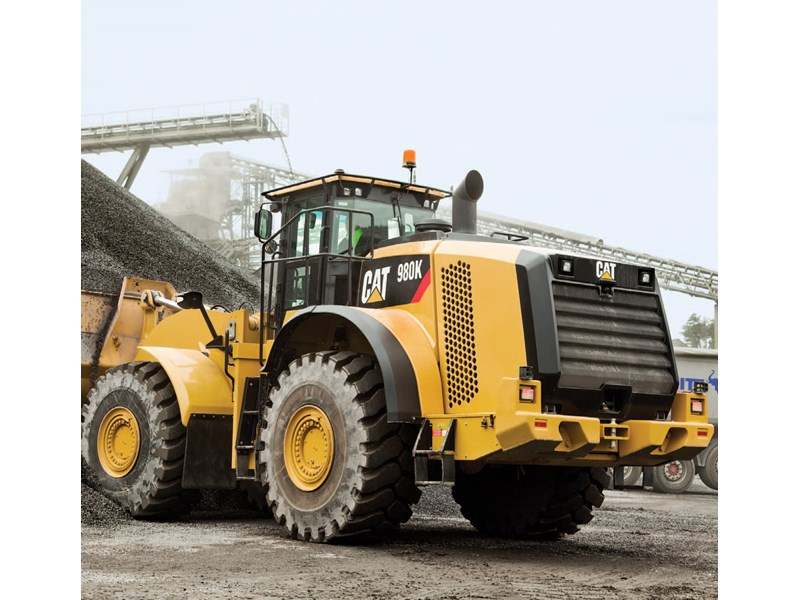 Caterpillar 980K Loader-Tool Carrier