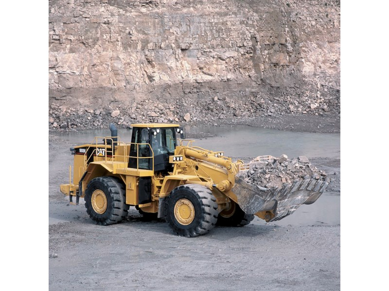Caterpillar 998H Wheel Loader