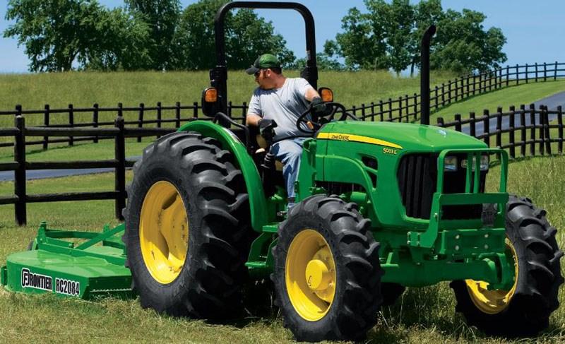 New JOHN DEERE 5093E CAB Tractors for sale
