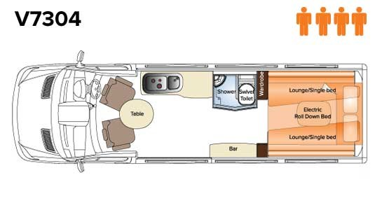 Avida Diversion V7304 Floor Plan