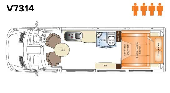 Avida Diversion V7314 Floor Plan