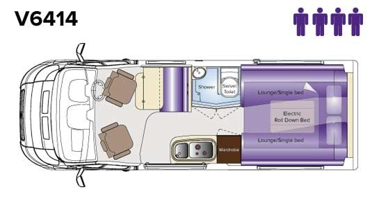 Avida Escape V6414 Floor Plan