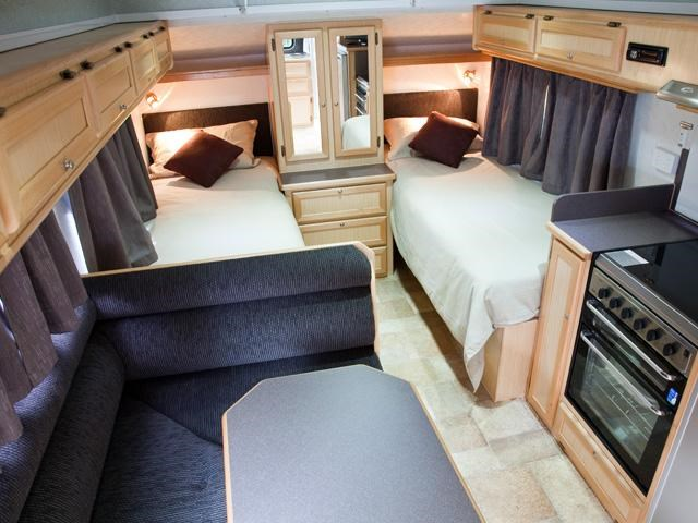 Trakmaster Kimberley Pop-Top Interior