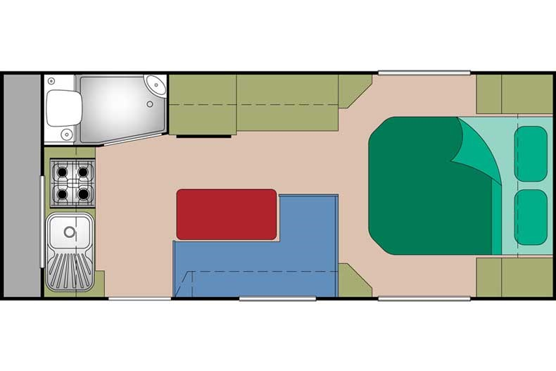 Supreme Territory 1660 T1 Floor Plan