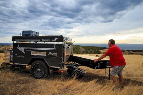 new adventure offroad campers arkaroola elite camper trailers for sale. Black Bedroom Furniture Sets. Home Design Ideas
