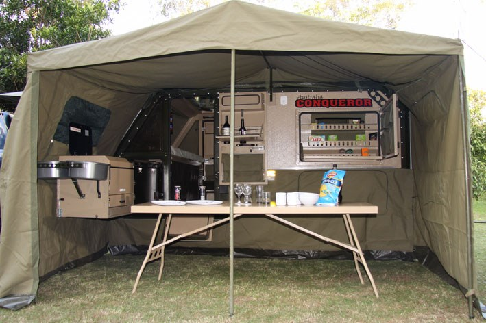 Brilliant Offroad Tent Trailers Like The TerraDrop From Oregon Trailr Offer Many Of The Amenities Of Conventional RV Trailers But In A Compact Package  Although A Growing Number From Australia, South Africa And Europe Are Finding Their Way Here